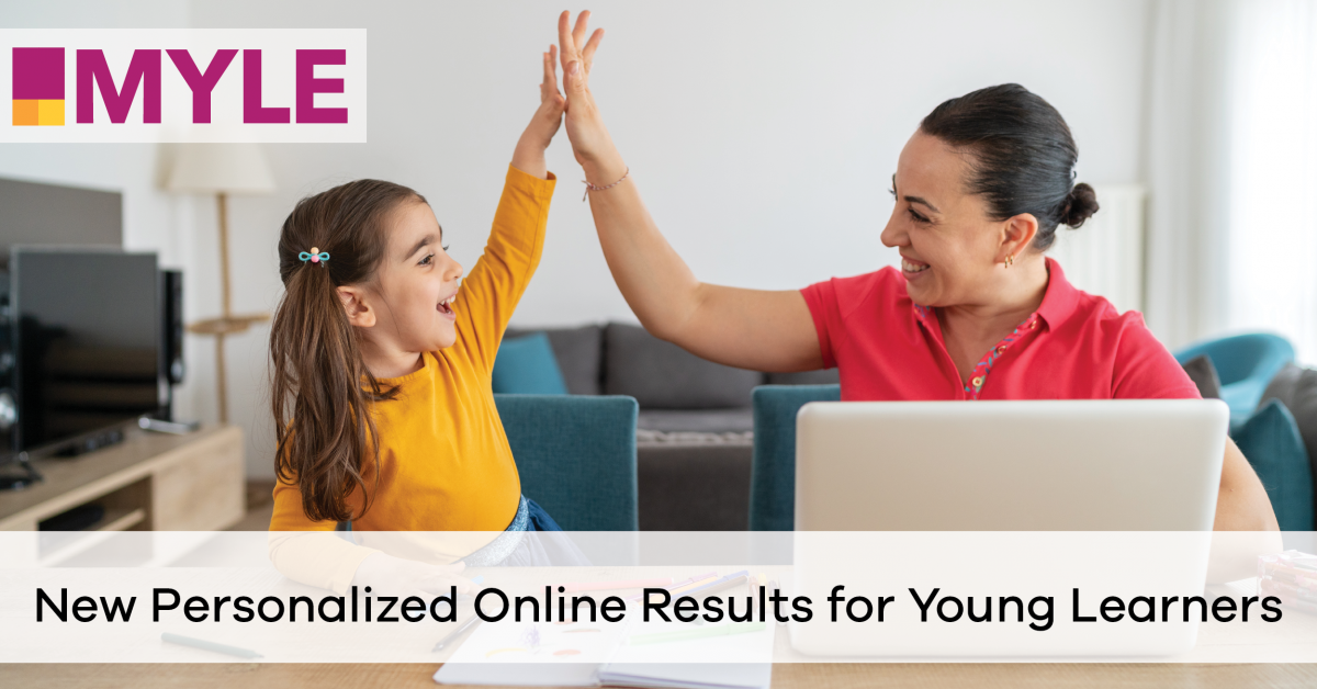 New Personalized Online Results for Young Learners