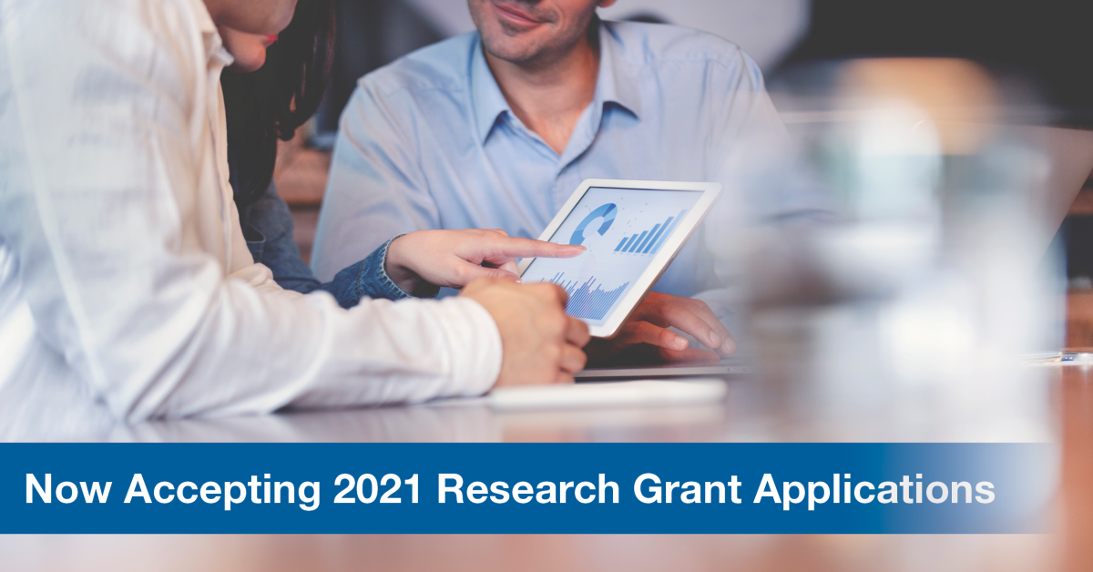 Now Accepting 2021 Research Grant Applications